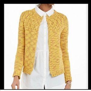 Anthropologie Sparrow Lodi Knit Cardigan Sweater L